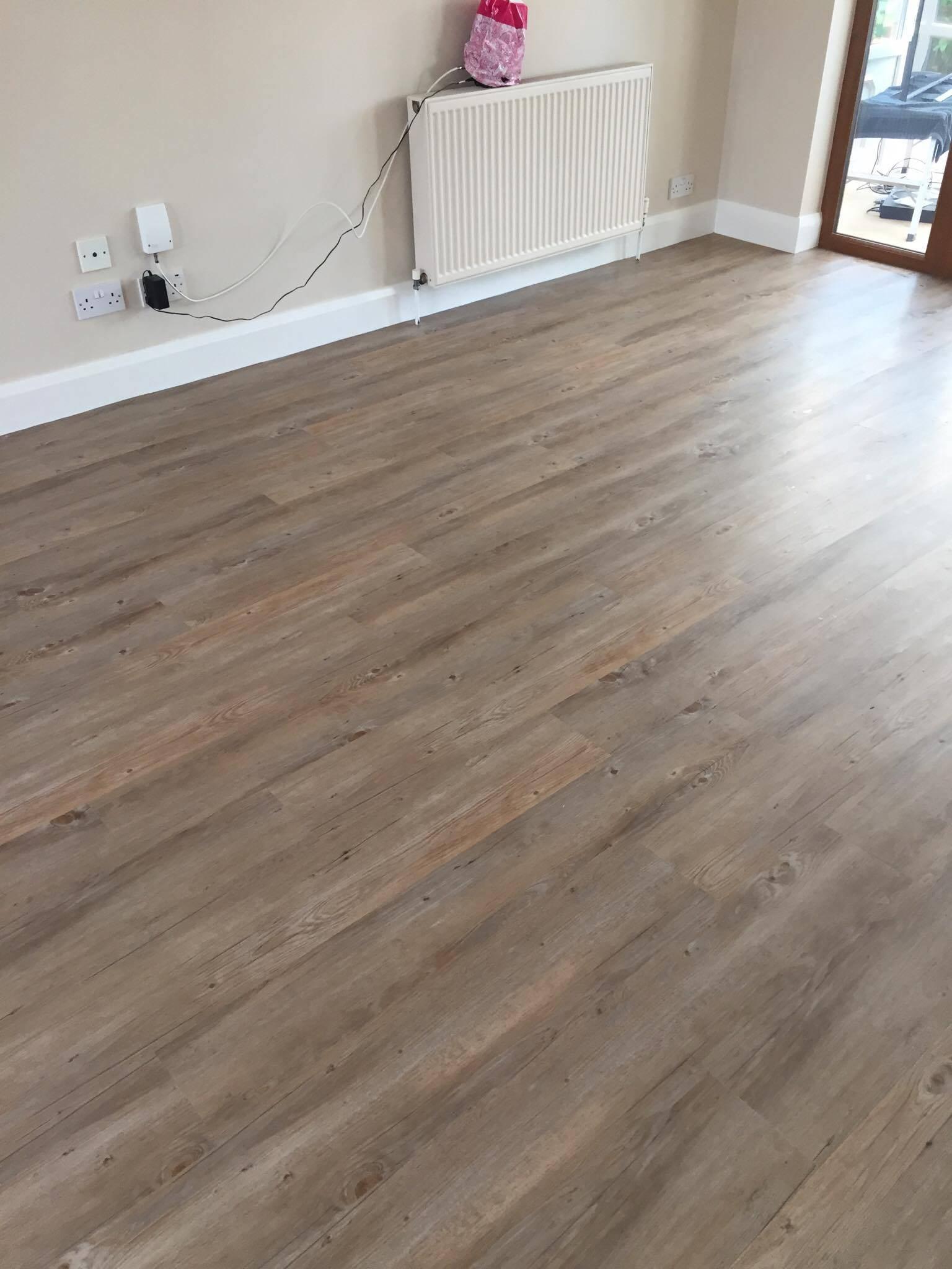 LVT flooring in nuneaton