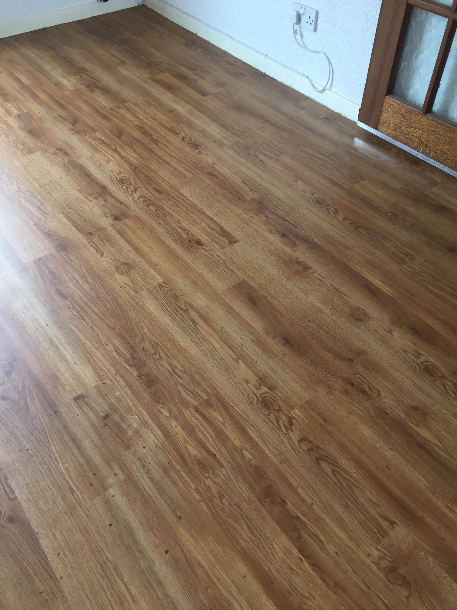 lvt flooring in a lounge