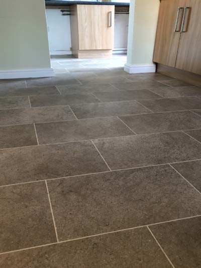 Karndean design flooring tile effect