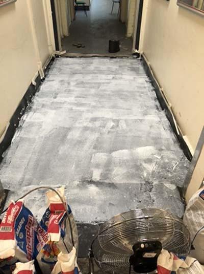 dampproofing a floor