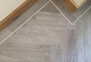 Karndean flooring in bathrooms