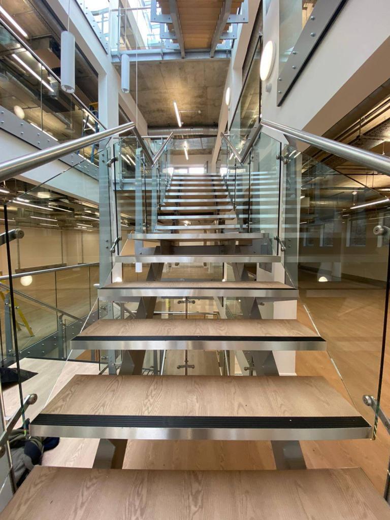 vinyl tile staircase