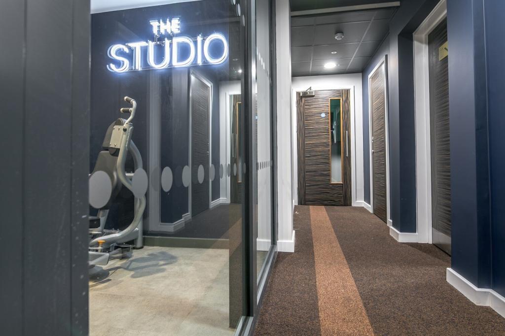 carpet tile corridor